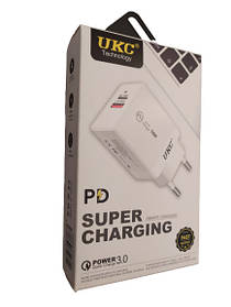 Адаптер Fast Charge 220v 18w Apd 889 Usb type C 180614