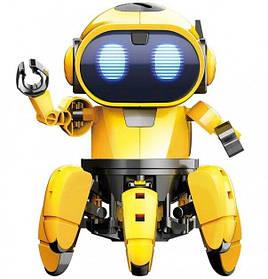 Інтерактивна іграшка танцюючий світиться робот Bot Robot Pioneer Жовтий 183684