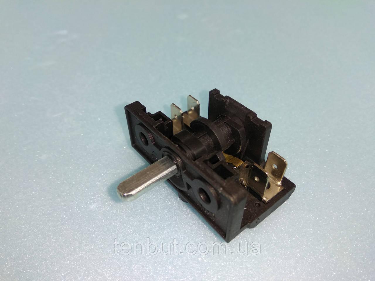 Переключатель для электродуховок АС 201 ( В ) / 4-х позиционный клемы вверх производство Турция