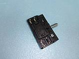 Переключатель для электродуховок АС 201 ( В ) / 4-х позиционный клемы вверх производство Турция, фото 5