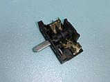 Переключатель для электродуховок АС 201 ( В ) / 4-х позиционный клемы вверх производство Турция, фото 2