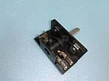 Переключатель для электродуховок АС 201 ( В ) / 4-х позиционный клемы вверх производство Турция, фото 6