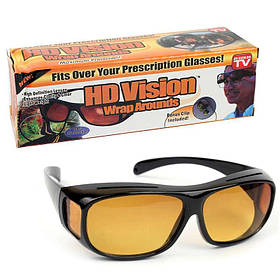 Антибликовые очки для водителей HD Vision Wrap Arounds 141129