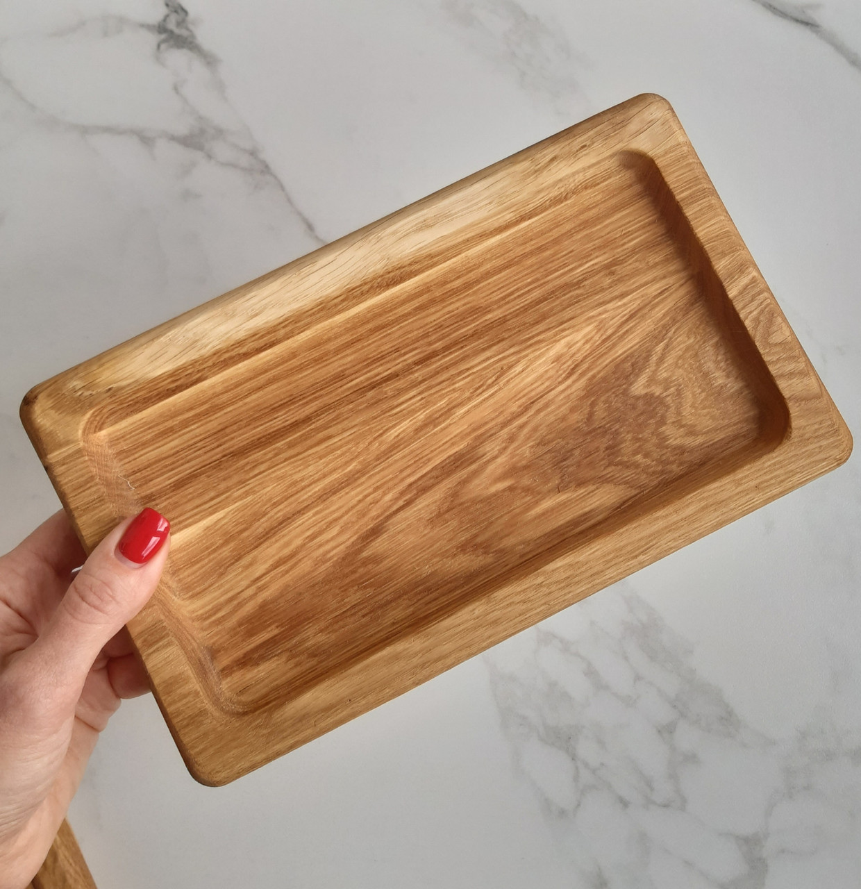 Дошка дерев'яна посуд сервіровки порційна для суші, шашлику 24*14 см