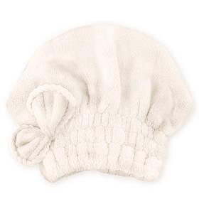 Банная махровая шапочка 38х28 см SH88039 белая 149060