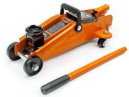 Домкрат подкатной гидравлический 2 т 125/300 мм Hercules Elegant Maxi EL 350 002 в коробке