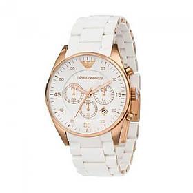 Наручные часы Emporio Armani 6538 с браслетом белые 149089