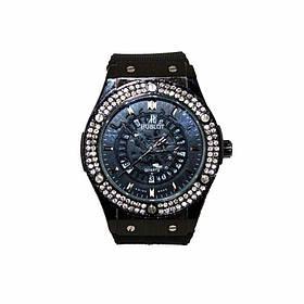 Наручные часы в стиле Нublot черные, золото 131614