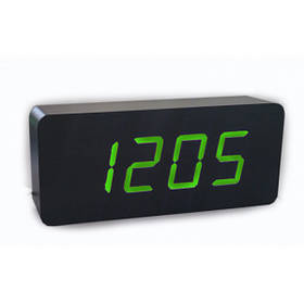 Електронні Годинники Led Wooden Clock Vst 865 Зелені 183654