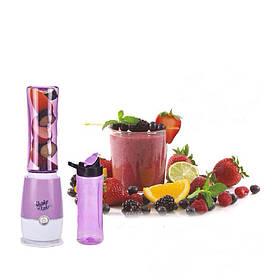 Блендер для приготування коктейлів та смузі з двома склянками Shaken Take 3 Фіолетовий 183781