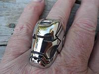 """Серебряное кольцо """"Iron Man"""" от WickerRing"""