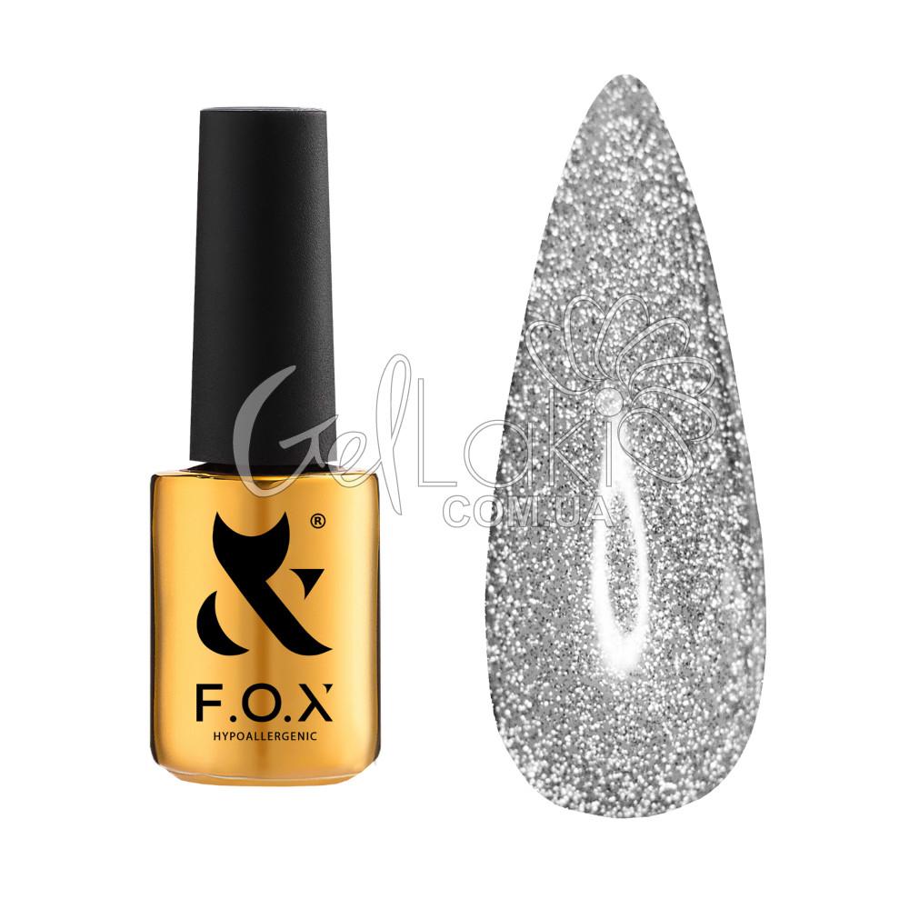 Cветоотражающее прозрачное финишное покрытие Fox Top Flash, 6мл