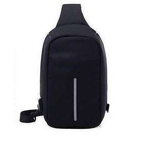 Сумка антивор через плечо Bobby Bag черная 132095