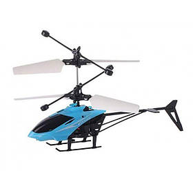 Літає вертоліт Induction aircraft з сенсорним управлінням JM-9198 Блакитний 183959