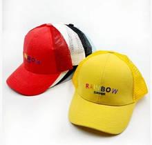 Стильные детские кепки  для мальчика Rainbow!! 52-54  р.