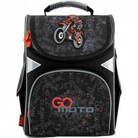 Рюкзак школьный каркасный GoPack Education для мальчиков 900 г 34x26x13 11 л Go Moto (GO20-5001S-11)