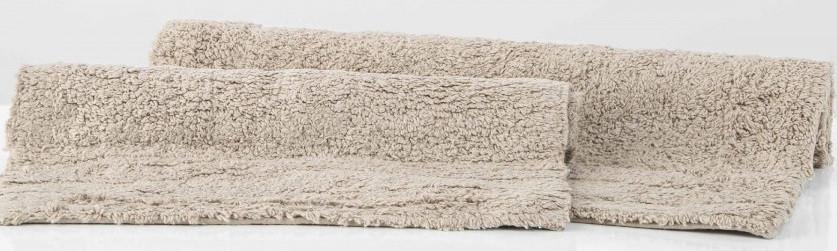 Набор ковриков Irya - Krios gri серый 40*60+55*85