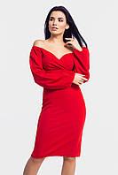 Нарядное женское вечернее платье Patrisia, красное