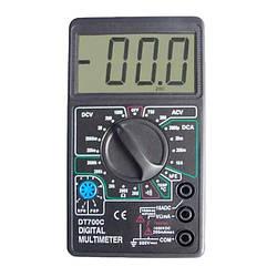 Мультиметр цифровой Digital Multimeter DT-700C, 12,6х7х2,3 см