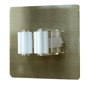 Тримач для душової штанги на липучці 5кг навантаження SQ-5100 132858