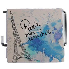 Держатель для туалетной бумаги закрытый Bathlux Menara Eiffel 50326