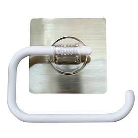Держатель для туалетной бумаги открытый на липучке 5кг SQ-5037 132852