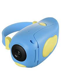 Детская видеокамера Childrens Digital Camera HD ET010 Голубая 184474