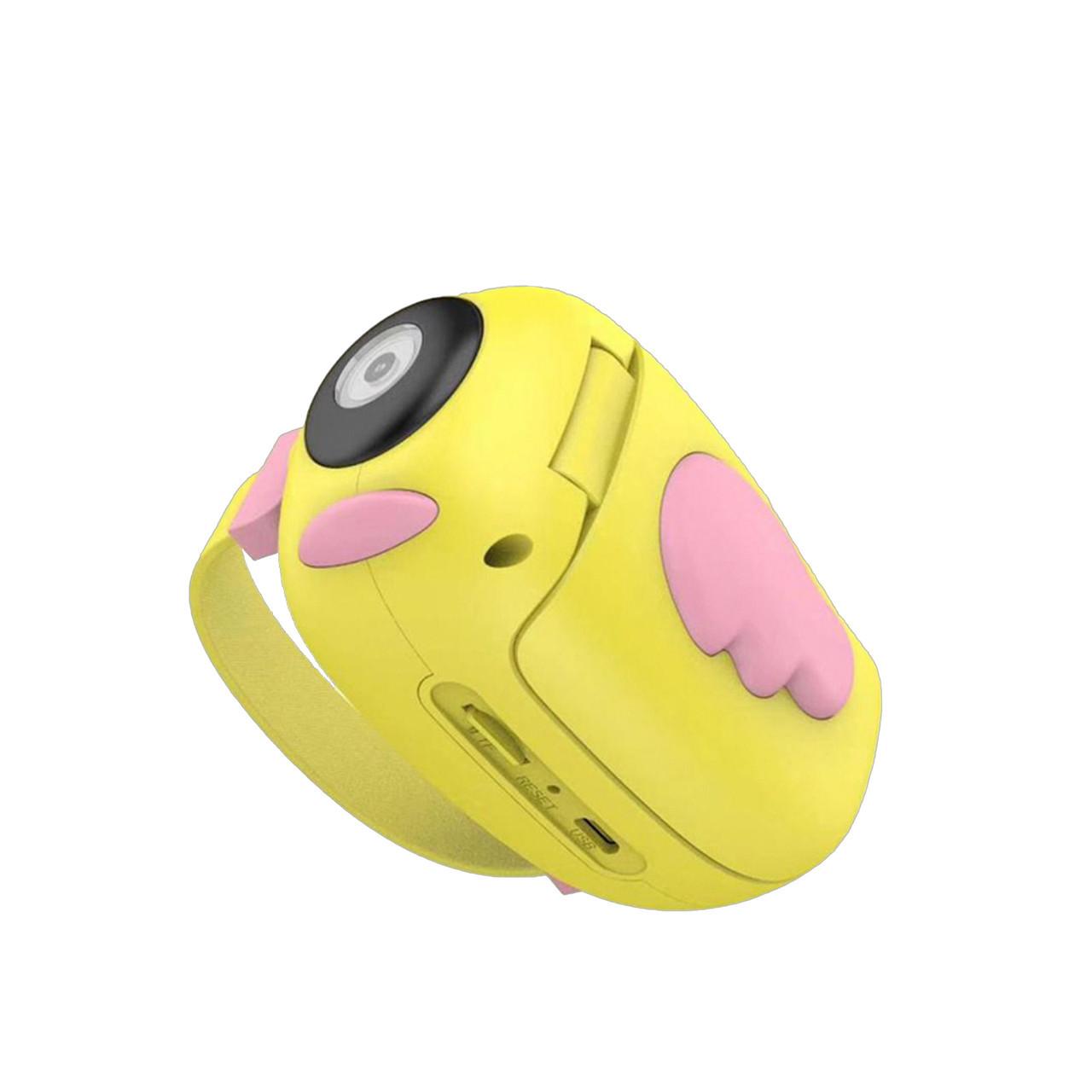 Дитяча відеокамера Childrens Digital Camera HD ET010 Жовтий 184472