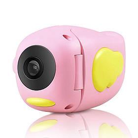 Детская видеокамера Childrens Digital Camera HD ET010 Розовая 184473
