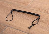 Шнур страховочный витой для пистолета 100™ черный, фото 1