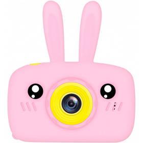 Дитяча фотокамера цифровий фотоапарат Baby Photo Camera Rabbit з автофокусом Х-500 Рожевий 183143
