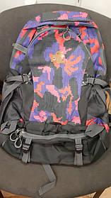 Туристический рюкзак на 50 л. Пиксель радужный 183161