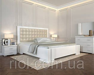 Кровать деревянная Амбер двуспальная