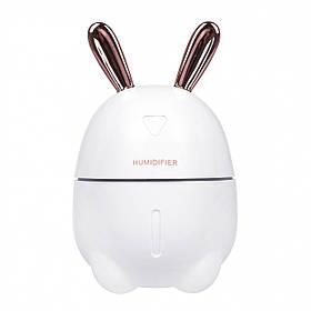 Зволожувач повітря і нічник 2в1 Humidifiers Rabbit білий 179853
