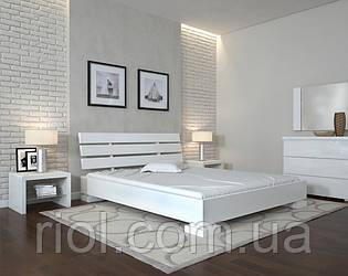 Ліжко двоспальне Прем'єр дерев'яна