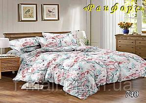 Двуспальное постельное белье Тет-А-Тет (Украина)  ранфорс (740)