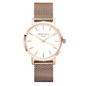 Женские часы в стиле Rosefield Розово-золотые 3193 182419