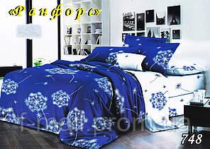 Двуспальное постельное белье Тет-А-Тет (Украина)  ранфорс (748)