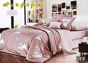 Двуспальное постельное белье Тет-А-Тет (Украина)  ранфорс (749)
