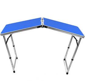 Раскладной Стол Для Пикника Стол Раскладной Туристический Folding table NO 1 Синий