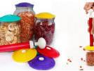 Система Набор Для Вакуумного Консервирования Хранения Вакуумные Крышки Пластиковые С Насосом 6 Шт