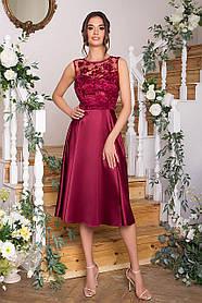 Розкішне плаття з вишивкою для випускного балу Розміри S, M, L, XL