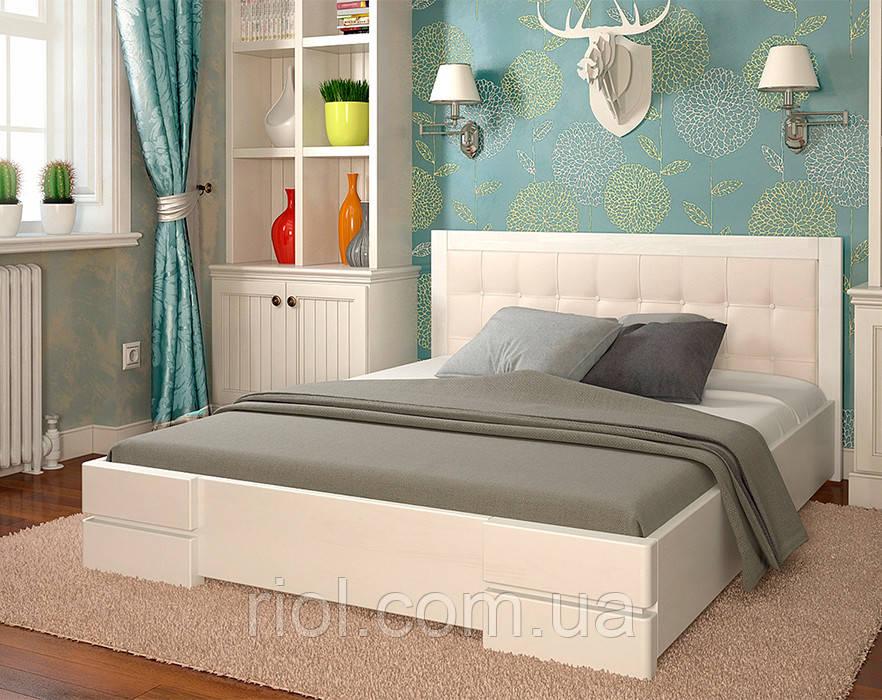 Ліжко дерев'яне двоспальне Регіна