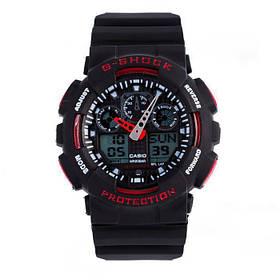 Мужские наручные часы Черно-красные 182377
