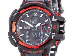 Мужские наручные часы Черно-красные 182381