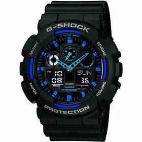 Мужские наручные часы Черно-синие 182378
