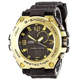 Мужские наручные часы Черные-золото 182383