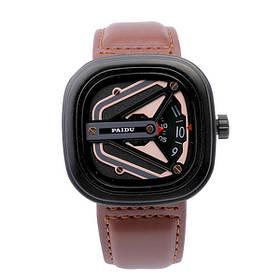 Мужские наручные часы Paidu Коричневые 182442