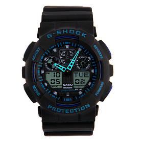 Мужские наручные часы Черно-синие 182382