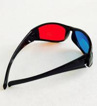 Карнавальные Очки 3D Красно Синие Прикол для Вечеринки Маскарад